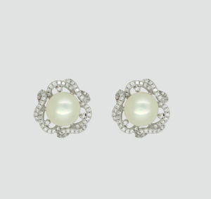 925 Sterling Silver Jewellery Pearl Earrings pictures & photos