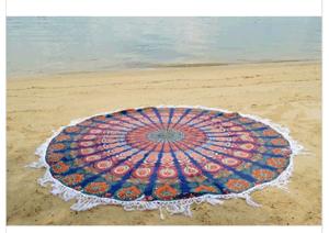 Turkish Round Beach Towel Cotton Beach Towel Round pictures & photos