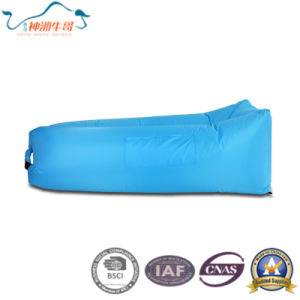 Fast Inflatable Camping Beach Sofa Sleeping Bag Lazy Chair