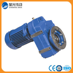 Parallel Shaft Helical Gearmotor F Series Hollow Shaft Gearbox with Three Phase Electrical Motor pictures & photos