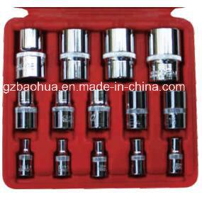 14PCS E-Type Socket, Sleeve (chrome-vanadium steel) pictures & photos