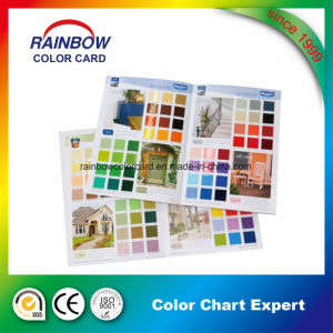 Printing Color Brochure for Interior and Outdoor Paint pictures & photos