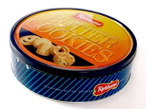 Wholesale Famous Denmark Cookie Box Metal Tin Food Box for Cookie Biscuit pictures & photos