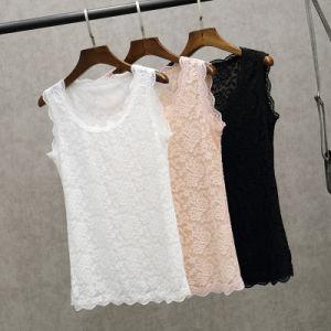 High Quality Lace Condole Belt Vest of Lady pictures & photos