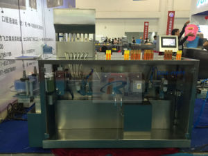 Ggs-118 P5 Syrup Plastic Ampoule Automatic Filling Sealing Machine pictures & photos