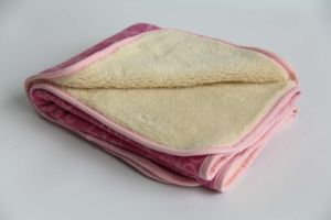 Super Soft Shu Velveteen Sherpa Blanket / Baby Blanket pictures & photos