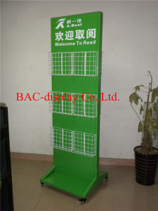 Magazine Rack /Cataloge Display Stand / Book Display Shelf pictures & photos
