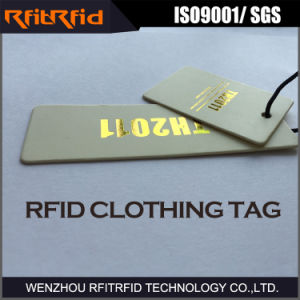 860-960MHz Passive Clothing RFID Tag pictures & photos