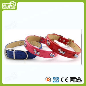 Colorful PU Dog Leash Pet Collar (HN-CL704) pictures & photos