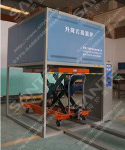 High Temperature Furnace with Bottom Loading Bell Type Annealing Furnace pictures & photos