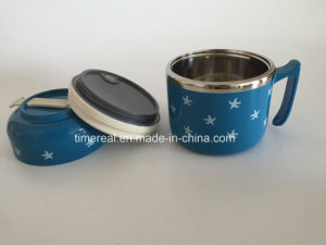 Stainless Steel Food Box Carrier with Hand Xg-001 pictures & photos