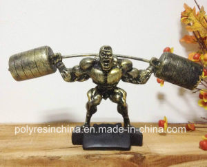 Polyresin Muscle Man of Bodybuilder Sculpture pictures & photos