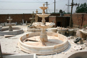 Three Tier Home Garden Marble Water Fountain for Sale (SY-F105) pictures & photos