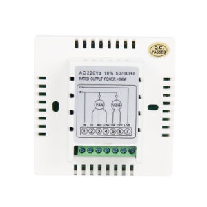 Programmable Digital Room Thermostat for Central Air-Conition 9A pictures & photos