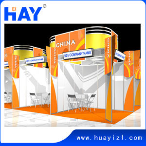 3X3m Exhibition Display with Curved