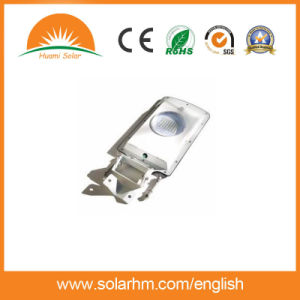 High Lumen 5W Motion Sensor Integrated LED Solar Street Light All in One pictures & photos