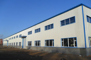 Prefabricated Construction Design Steel Structure Factory Shed pictures & photos