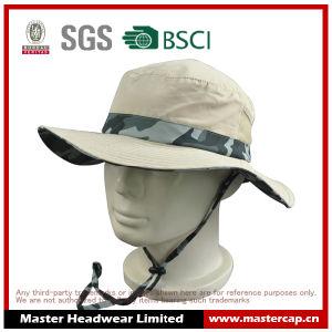 Camo Color 100% Polyester Oudoor Sun Hat