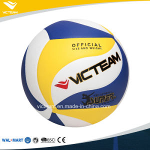 Superfine Polyurethane Size 5 4 Volleyball Ball pictures & photos