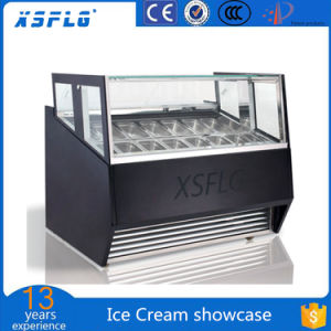 Ce Approved Gelato Ice Cream Display Freezer pictures & photos
