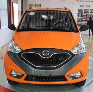 Low Speed SUV Electric Car with DOT Certificate pictures & photos