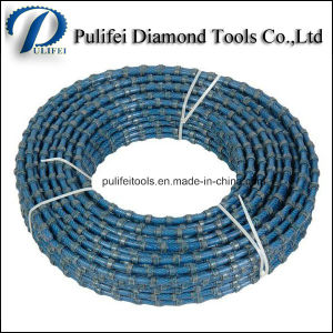 Fast Cutting Speed Marble Quarry Cutting Profiling Squaring Wire Saw pictures & photos