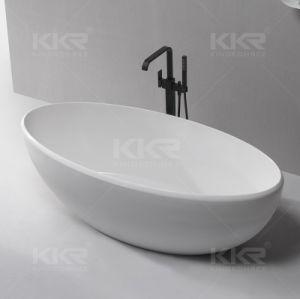 Modern Bathroom Acrylic Stone Freestanding Bathtub for Hotel 061602 pictures & photos