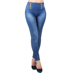 High Quality Blue Tight Popular Legging pictures & photos