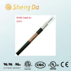 Rg59 Standard Bc Fpe Cable Black for CATV and CCTV pictures & photos