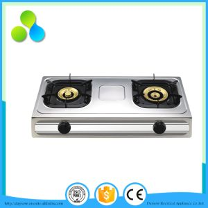 3 Burner Table Gas Hob Indian Style Countertop Gas Stove pictures & photos