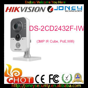 Hikvision 3MP High Resolution Network Cube Camera WiFi IP Camera (DS-2CD2432F-I) pictures & photos