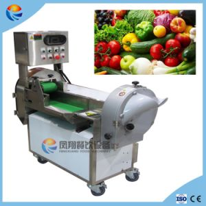 Automatic Lettuce Yam Okar Onion Mushroom Vegetable Cube Pieces Strips Cutter pictures & photos