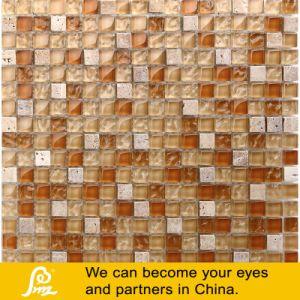 Travertino Stone Mix Mosaic 03 pictures & photos