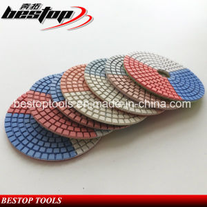 4inch 100mm Marble Polishing Pad for Stones pictures & photos