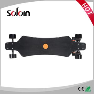 4 Wheel Gift Scooter Carbon Fiber 1600W*2 Dual Motor Electric Skateboard (SZESK005) pictures & photos
