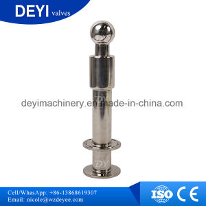 Customized Sanitary CIP Rotary Spray Ball with Double Clamps pictures & photos