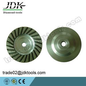 100mm Aluminum Matrix Diamond Cup Wheel for Granite Grinding pictures & photos