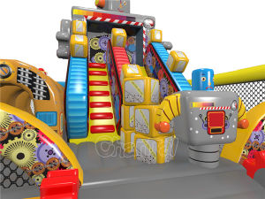 Robots Inflatable Obstacle Course for Kids Chob1123 pictures & photos