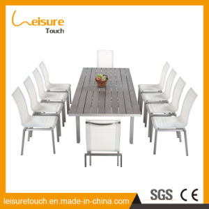 Environmental Friendly Garden Outdoor Furniture Mess Hall Table and Chair pictures & photos