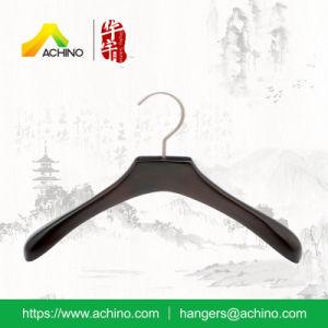 Black Luxury Wooden Kids Hangers (WKCH200) pictures & photos