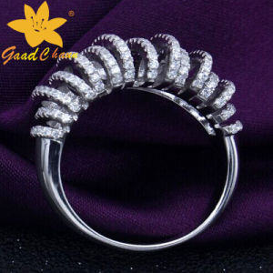 Stsr-16113008 European and American Wind Atmosphere Full of Star Cheap Sterling Silver Rings pictures & photos