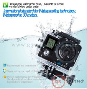New Ultra HD 4k Dual Screen 2.0′ Ltps LCD Action Camera WiFi Sport DV pictures & photos