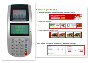 Ce & FCC POS Receipt Printer with LAN&WiFi 2g/3G for Online Ordering pictures & photos