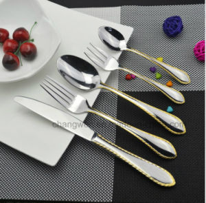 90PCS Stainless Steel Tableware Set pictures & photos