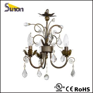 Indoor Iron Mini Crystal Droplight pictures & photos