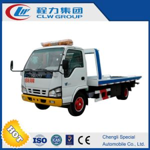 Isuzu High Quality Flatbed Wrecker pictures & photos