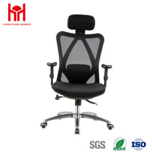 High Quality Blue Mesh Office Chair with Headrest China Factury pictures & photos