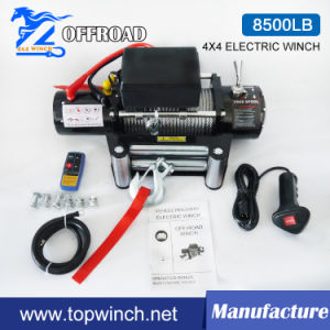 4X4 Recovery Electric Winch with Wireless Remote Control Kit (8500lb-1) pictures & photos