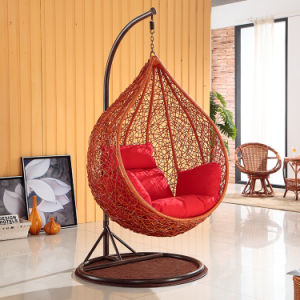 Garden Hanging Egg Chair Outdoor Rattan Swing / Wicker Swing Furniture (D020A) pictures & photos