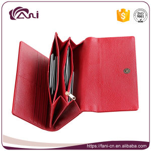 Red Fashion Fancy Clutch Purse and Wallet for Lady pictures & photos